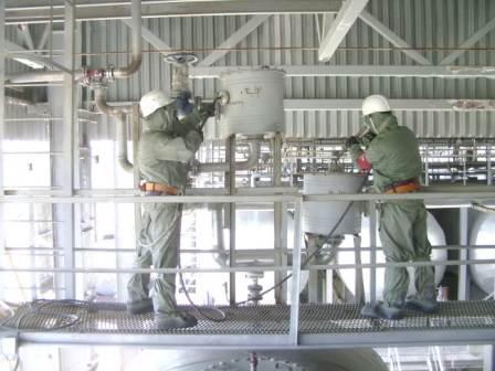 Дегазация фильтров в корпусе 1044