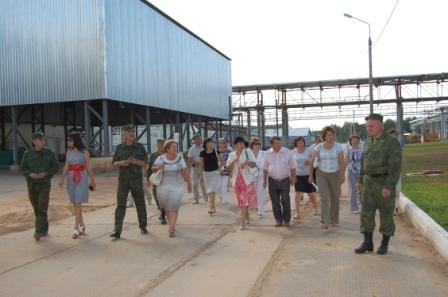 Экскурсия Администрации района 2012 г