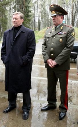 "С. Иванов и В. Капашин на ОУХО ""Почеп"""
