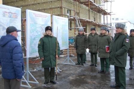 Капашин В.П. на реконсрукции детского сада № 5