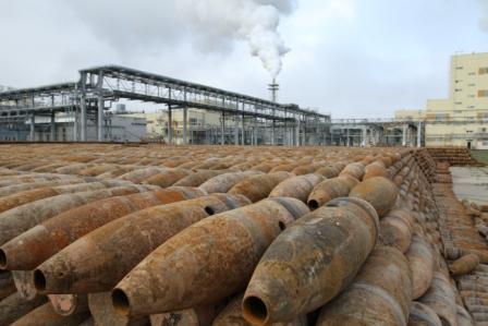 Обезвреженные артиллерийские химические боеприпасы