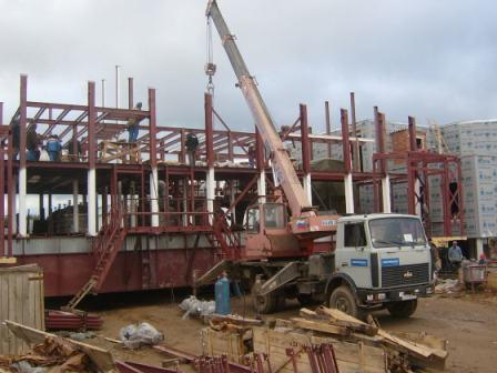 Строительство объекта по УХО в Камбарке