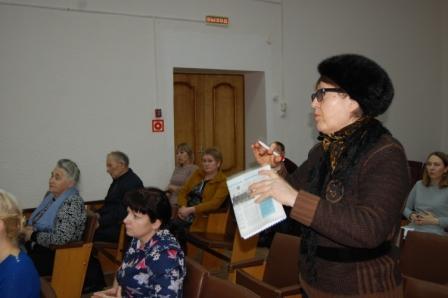 Выступление на общественных слушаниях в п. Кизнер